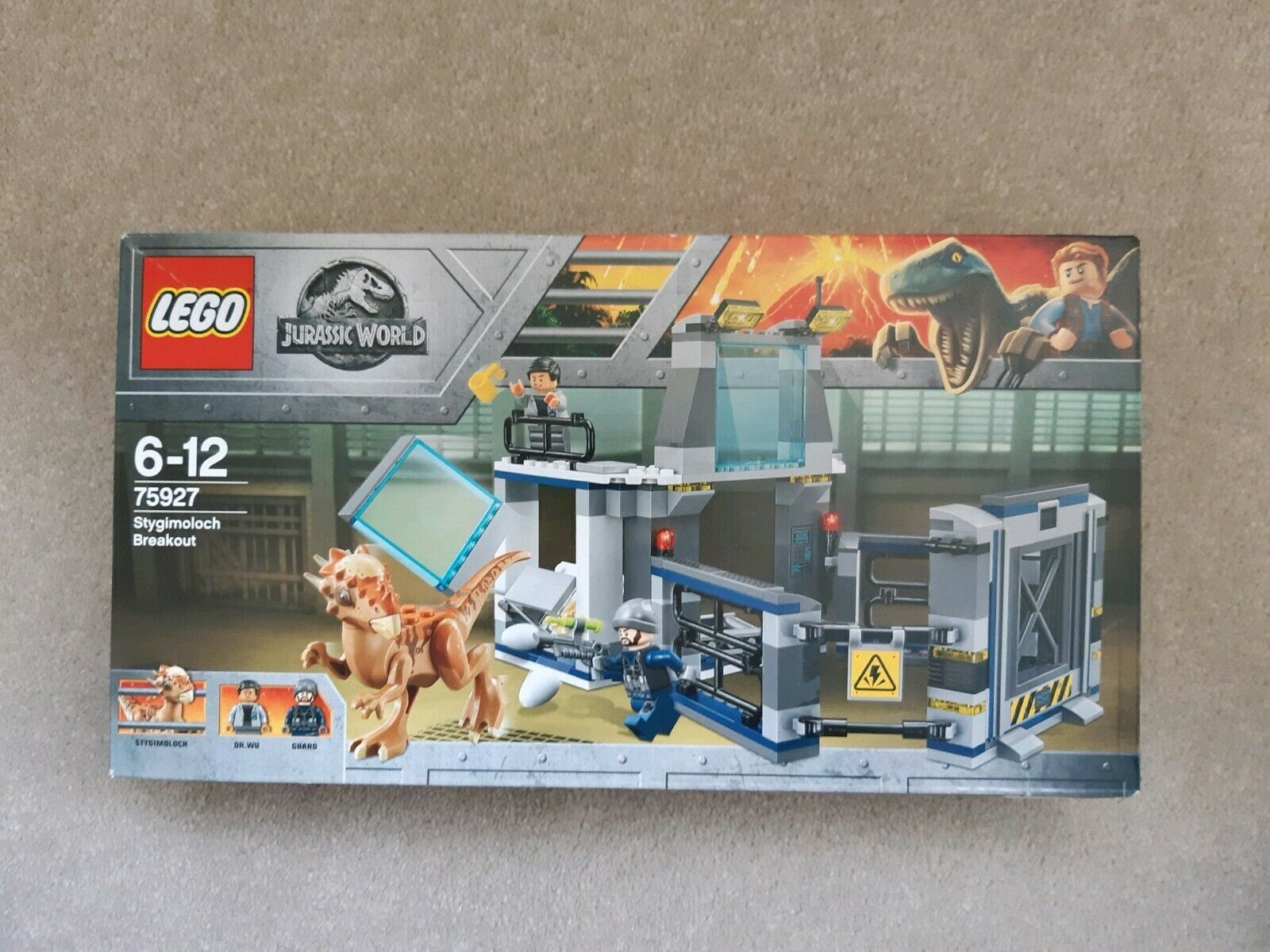 NEW LEGO 75927 Jurassic World Stygimoloch Breakout