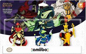 Shovel-Knight-Schatz-Fundgrube-Amiibo-3-Packung-Nintendo-Schalter