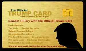 OFFICIAL TRUMP CARD Trump President 10 LOT Make America Great Again BLOW OUT!