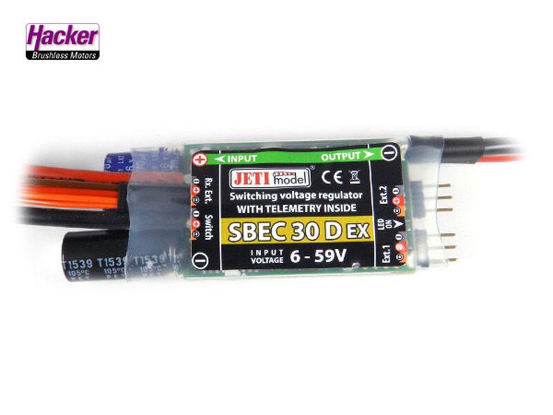 Jeti Hacker S Bec 30 Ex Voltaje Regulador J-Sbec-30-D