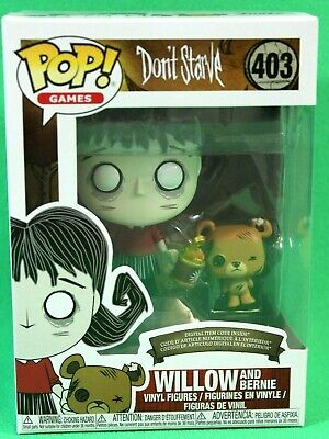 Vinyl Figure #403 FUNKO NEW MIB Don/'t Starve Video Game Willow and Bernie POP
