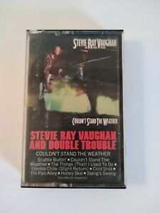 Stevie Ray Vaughan and Double Trouble, Couldn't Stand the Weather, Cassette Tape
