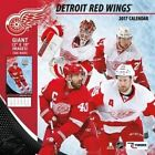 Cal 2017 Detroit Red Wings 2017 12x12 Team Wall Calendar by Turner 9781469339962