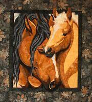 Pride & Joy Toni Whitney Horse Fusible Applique Quilt Pattern Mare Foal