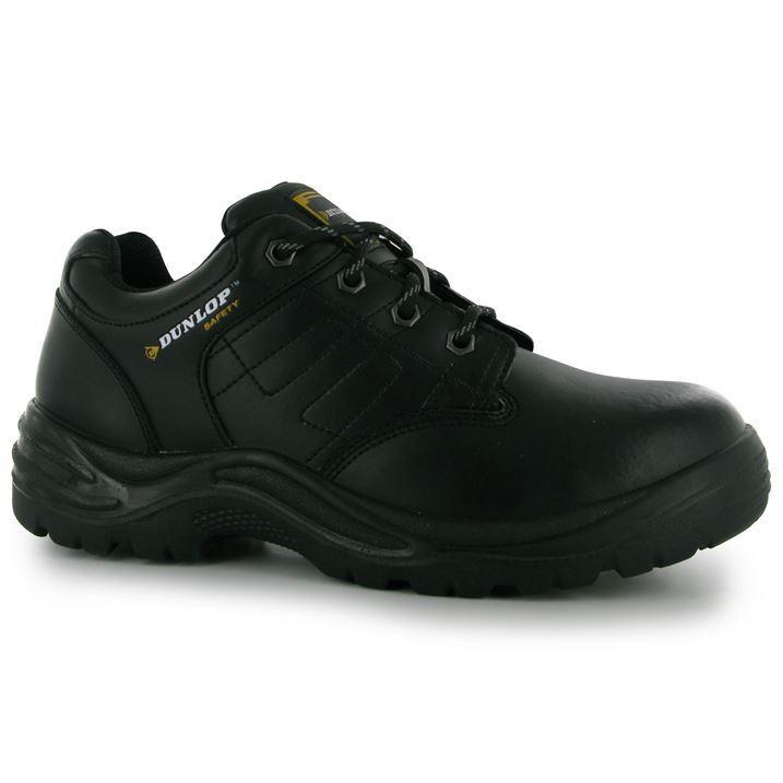 Dunlop chaussures de sécurité taille 6 7 8 9 10 10 10 11 12 13 14 15 steel toe cap travail homme noir 58d8dc