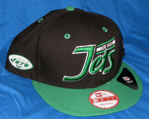 NEW YORK JETS NFL HISTORIC LOGO NEW ERA 9FIFTY ORIGINAL FIT SNAPBACK ... bbb08b102e6