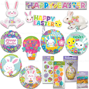 Happy-Easter-Decorations-Foil-Balloons-Cello-Bags-Banner-Bunny-Egg-Chick