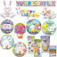 Happy-Easter-Decorations-Foil-Balloons-Cello-Bags-Banner-Bunny-Egg-Chick thumbnail 1