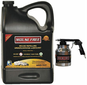 Mouse Free 1 Gallon Rv Mouse Repelling Undercarriage