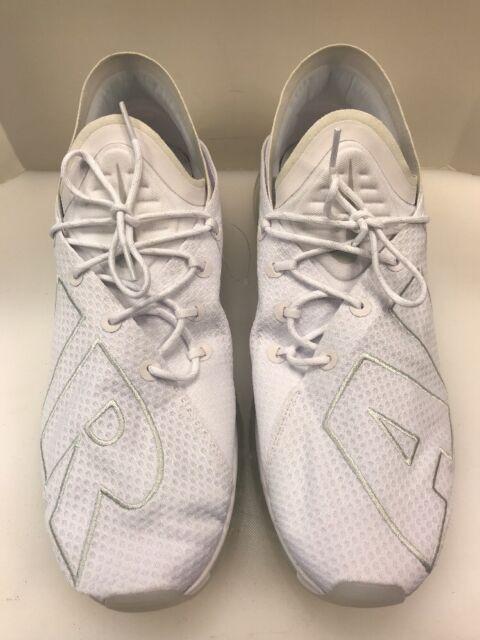 680a0e6fcaf9 Nike Air Max Flair Men 13 Shoes White Pure Platinum 942236 100 for ...