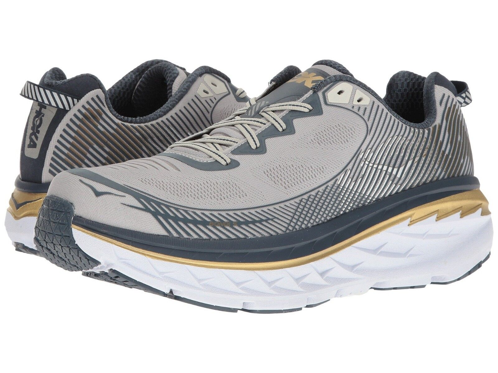 New Uomo Hoka One One Bondi 5 Running scarpe scarpe scarpe Dimensione 8-13 Last Pair 1014757 CGMN 548a6b