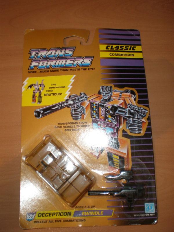 Vintage  Transformers 1989 G1 Combaticon escroquerie Bruticus Comme neuf on voitured  livraison rapide