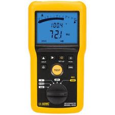 Aemc 6536 215556 Digital Megohmmeter 10v 100v Withbargraph Alarm
