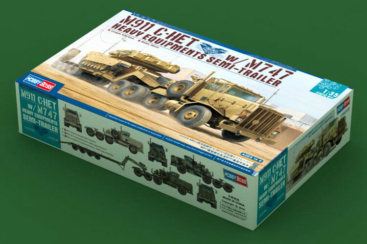 Hobbyboss 85519 1 35 M911 C-HET W M747 Heary Equipment Semi-Trailer