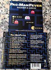 Jerry BUCKNER & Gary GARCIA PAC-MAN FEVER 1981 2002 VERY RARE OOP MINT CD K-Tel