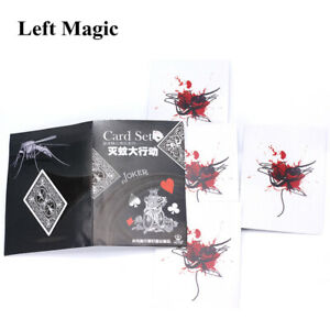 Mosquito-Action-Children-Magic-Props-Magic-Card-Sets-Magic-Tricks-Close-Up-Toys