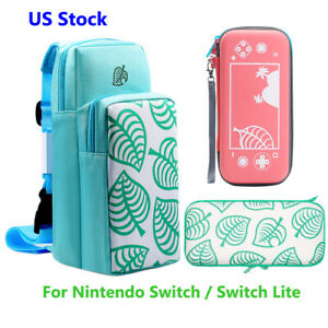 Animal Crossing Carrying Case For Nintendo Switch Lite Storage