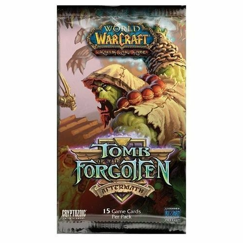 Warcraft Booster Pack x 1 Tomb of the Forgotten White Camel Loot?