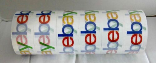 """FedEx 6 Rolls  Logo Tapes 75 yards x 2/"""" Brand New,Sealed,Fast Shipping USPS"""