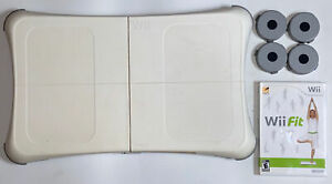 Wii Fit Balance Board Nintendo Exercise Fitness Controller Board & Wii FIT game