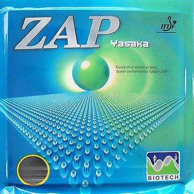 Yasaka ZAP-40mm BIOTECH Pips-In Table Tennis Rubber black 2.2mm NO ITTF