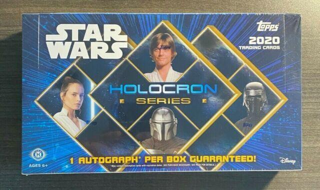 2020 Topps Star Wars Holocron Series Hobby Box 18 Packs Per Box