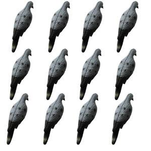 Dozen-Foam-Pigeon-Decoy-3D-Realistic-Hollow-Dove-Decoy-Garden-Decorative-Upgrade