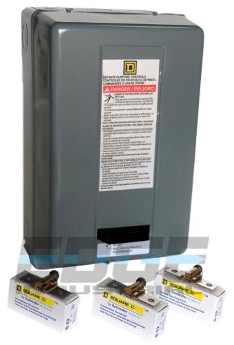 EATON  CUTLER HAMMER A201K1BA 27 AMP Size 1 2 Pole A200 Contactor 110//120 V Coil
