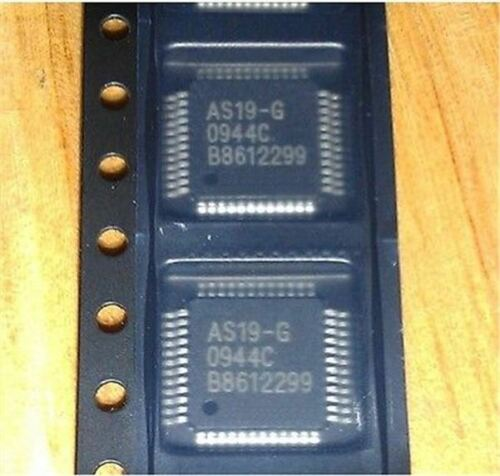 2Pcs AS19-HG AS19 QFP48 E-Cmos Lcd Power Chipsnew gb