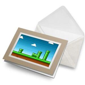 Greetings-Card-Biege-Retro-Platform-Game-Gamer-Geek-14790