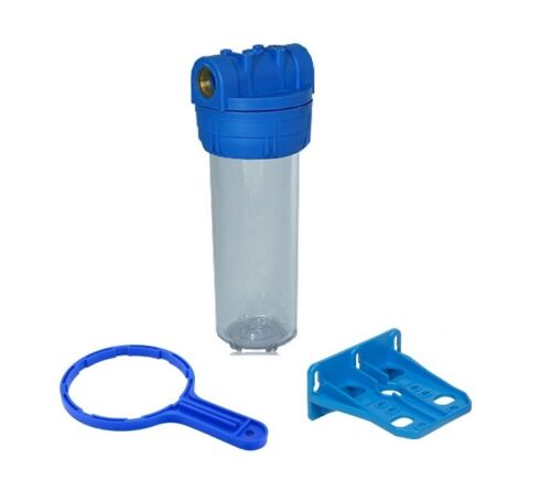 """Filtergehäuse Set 10/"""" 1 IG ANTI KALK KARTUSCHE Vor Filter Osmose Wasserfilter"""