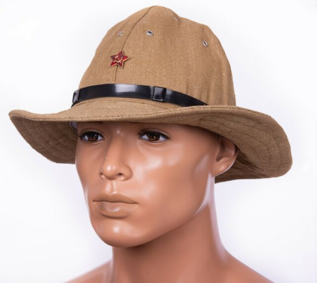 Russian Boonie Hat Soviet Red Army SOLDIER Uniform Afganka cap Panama size 62