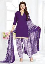 Fabulous Salwar Kameez Unstitched Crepe Designer Unstitched Suit D.No AR5017
