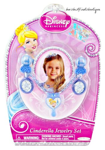 NEW NIP Disney Princess Cinderella Princess  Jewelry Set