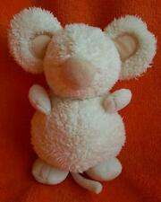 """Boots Mini Mode Cream Mouse Soft Toy Baby Comforter 7"""" doudou"""
