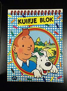 Kuifje-Blok-Tintin-Jesco-1986-ETAT-NEUF-Herge-Tim-Kuifje