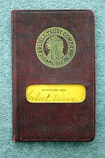 1930s CARLISLE TRUST COMPANY Pennsylvania BANK Account BOOK Banking REGISTER PA