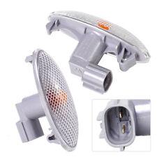 Pair Side Turn Signal Light Fender Lamp Fit For Toyota Camry Yaris RAV4 2006-13