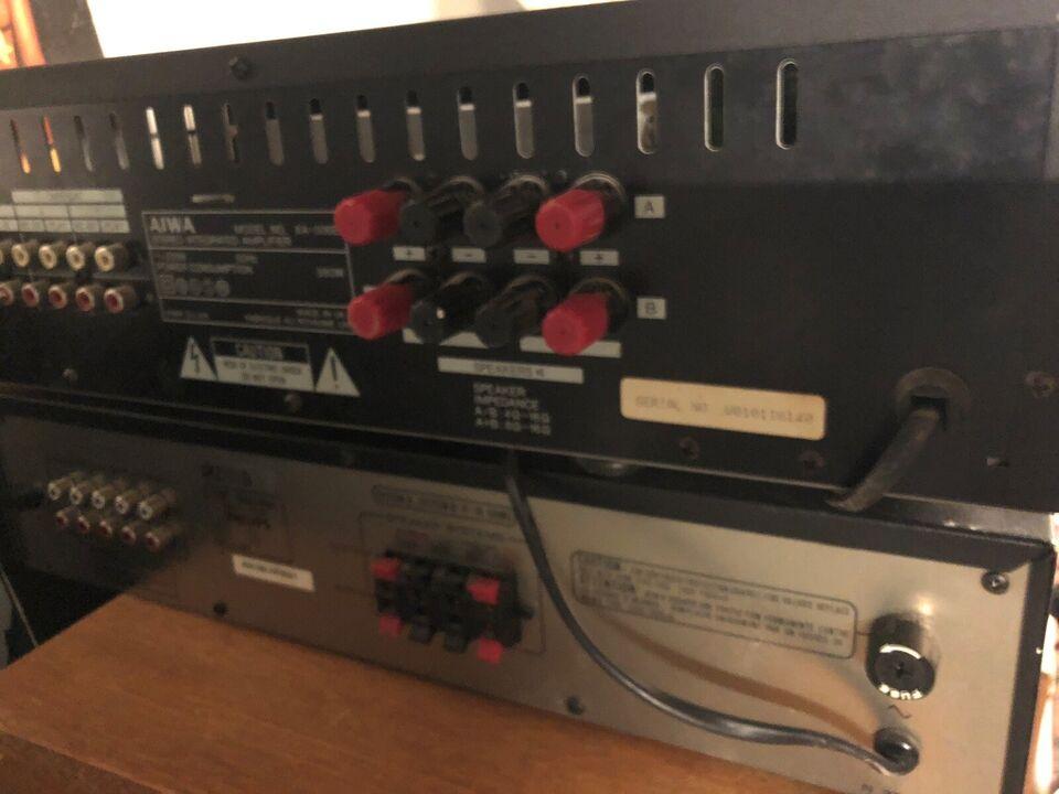 Forstærker, Aiwa, Xa-008
