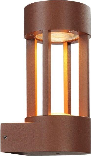 SLV SLOTS WALL Wandleuchte, rostfarben, 6,3W LED, warmweiss