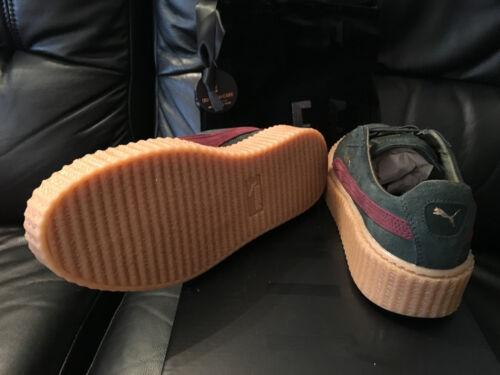 Schuhe 7 Puma 5 in 6 roter Wildleder Grüner Kaugummi Größen aus 8 ... Attraktive Mode