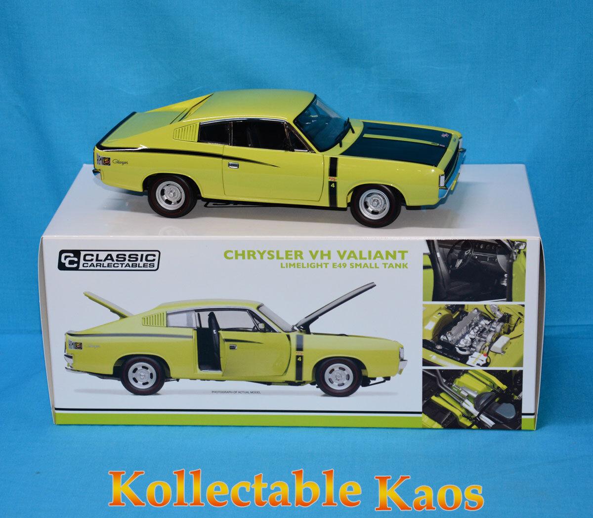 tienda de venta 1 18 18 18 Classics-Chrysler VH Valiente-E49 pequeñas Tanque-Limelight  muy popular