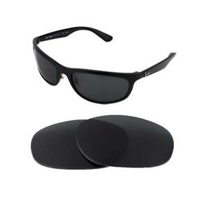 4f28799b88e Image is loading NEW-POLARIZED-REPLACEMENT-BLACK-LENS-FIT-RAY-BAN-