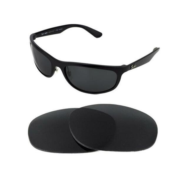 e735bf9906d Polarized Replacement Black Lens Fit Ray Ban Tech Rb8316 62mm Sunglasses