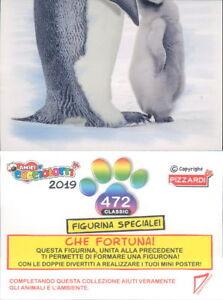 FIGURINA STICKER ORIGINALE PIZZARDI*AMICI CUCCIOLOTTI COLLEZIONE 2019 N.477