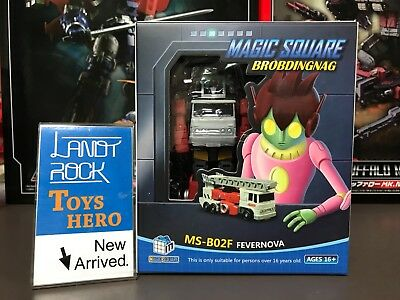 Transformers toy MS-B02F Robot Action Figure Fevernova ARTFIRE in stock
