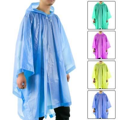 Regencape Regenponcho Regenjacke Regenschutz Regen Schutz Fahrrad blau unisex