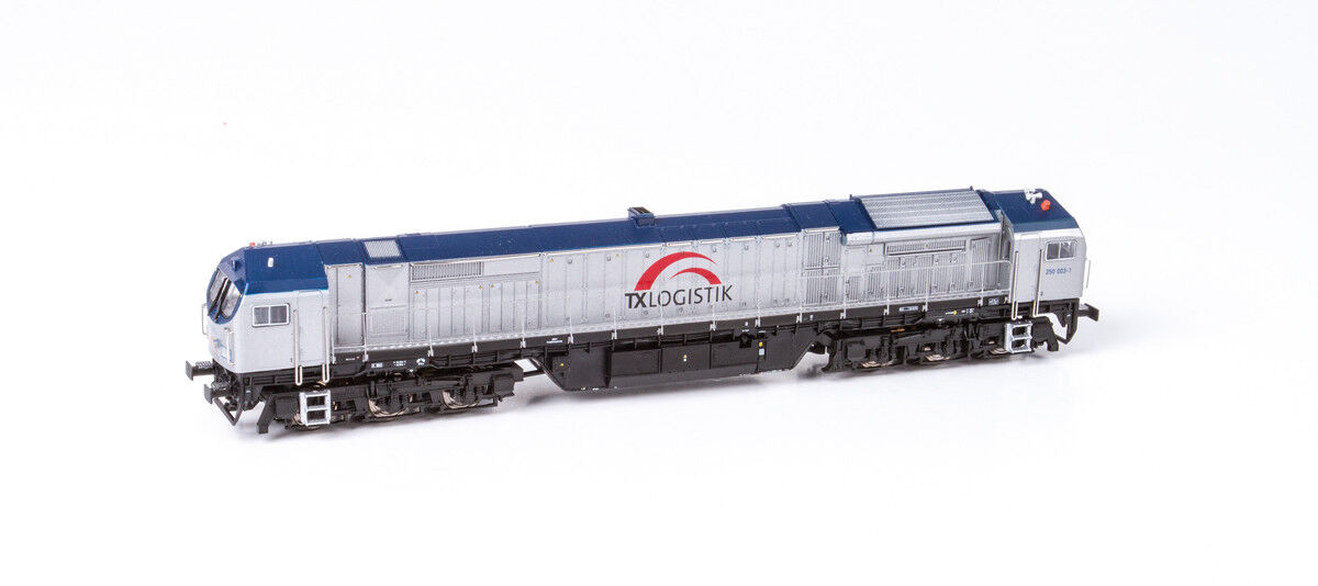 Mehano 58923 Scala H0 blå Tiger 2 DE -AC33C Tx Logistica Ep.v   Vi Sound