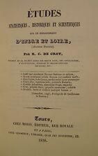 CROY R.C. de - INDRE ET LOIRE - 1838/1990
