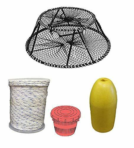 KUFA Sports Vinyl Coated Tower Style Prawn Trap & Accessory (CT140+PAM1)